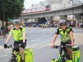 Followed by the first riders who whilst being much slower than the Tour Pros are also more smiley